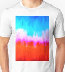 Coloured Waves Unisex T-Shirt