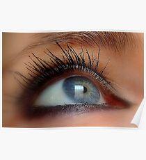 Eye macro Poster