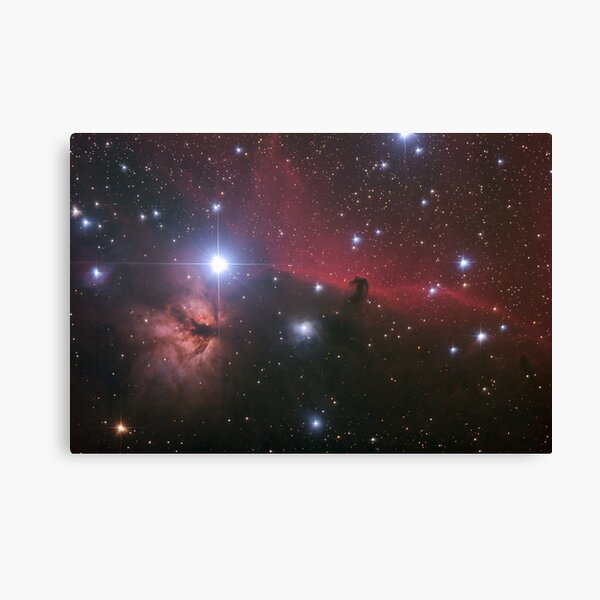"""Nebular comples in Orion's Belt. """"Horse head"""" and """"Flaming tree"""" nebulas. Canvas Print"""