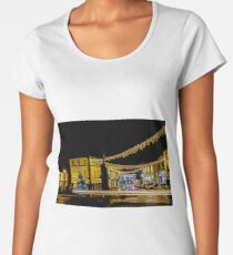 The Cross, Ulverston, Christmas  Women's Premium T-Shirt