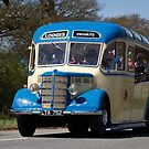 1950s Bedford Vintage Bus / Coach by The Transport Lens