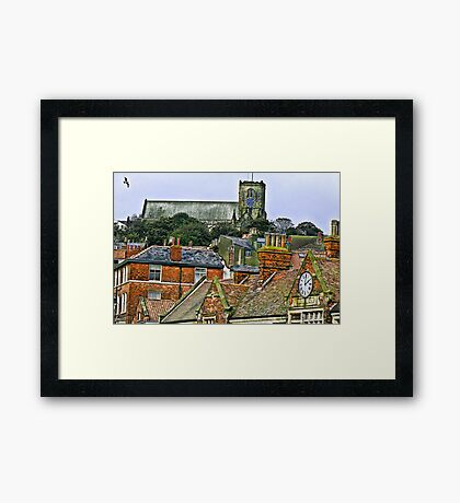 St Mary's Church - Scarborough Framed Print