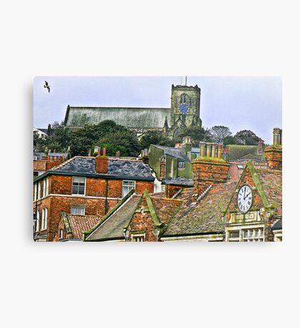 St Mary's Church - Scarborough Metal Print