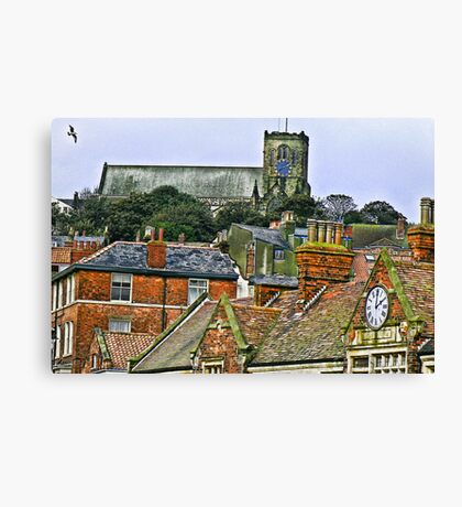 St Mary's Church - Scarborough Canvas Print