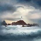 Corbiere Lighthouse by Nicky Stewart