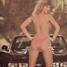80's Pinup girl with Vette by Tasty Clothing