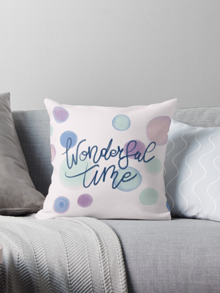 Wonderful Time #redbubble #xmas by designdn