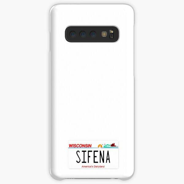 Sifena WI License Plate Samsung Galaxy Snap Case