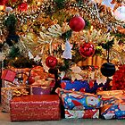 Presents Under the Tree by AnnDixon