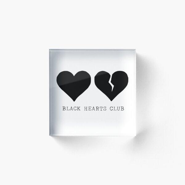 yungblud black hearts club Acrylic Block