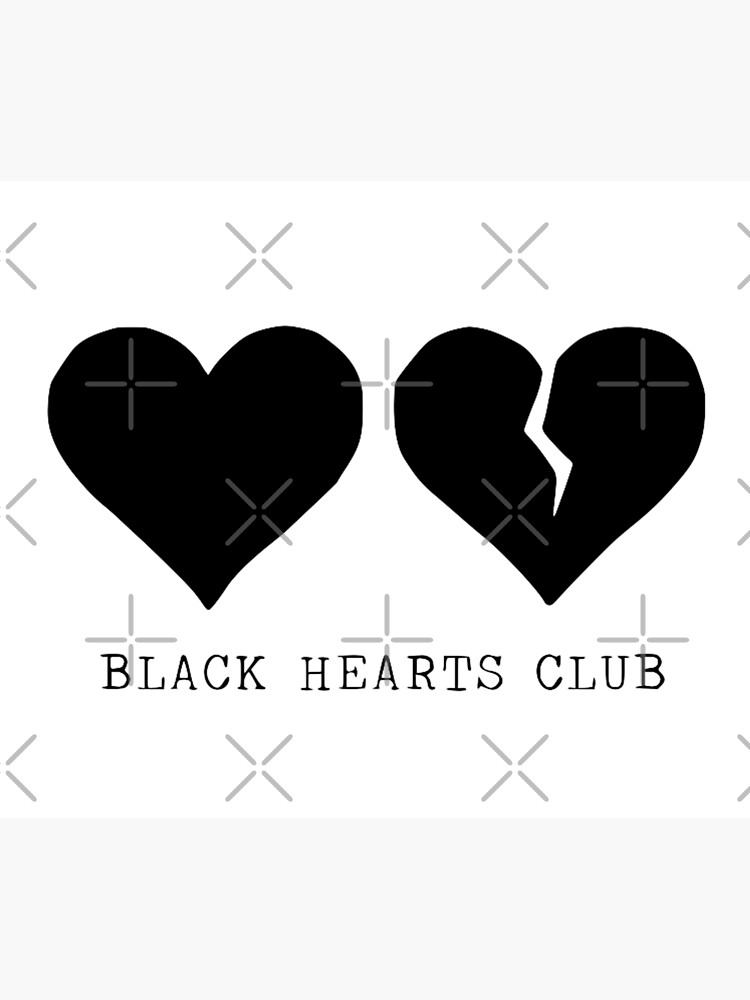 Yungblud Black Hearts Club Duvet Cover By Hlncxiiiv Redbubble