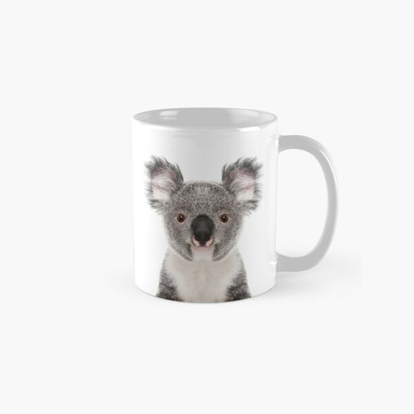 Koala Bear Portrait Classic Mug