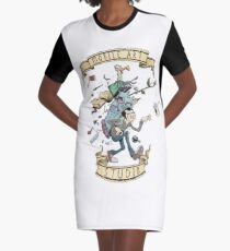 Mobile Art Studio Graphic T-Shirt Dress
