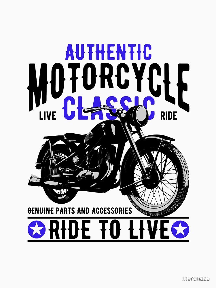 California Classic Motorcycles Born to live Geschenk von meronasa