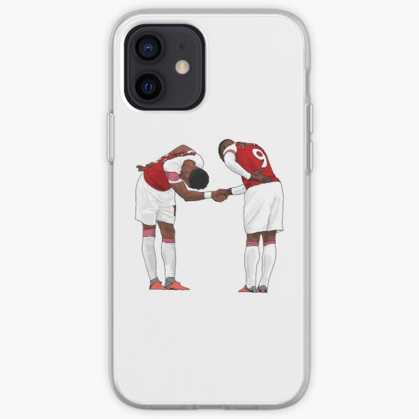 Aubameyang and Lacazette iPhone Soft Case
