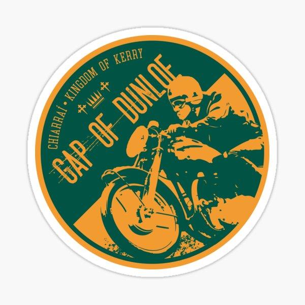 Gap of Dunloe - Ireland, Motorcycle T-Shirt + Sticker Sticker