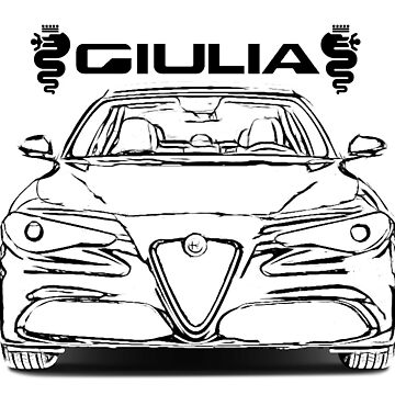 Alfa romeo Giulia by camisetascharly