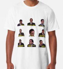 Camiseta larga Michael Scott cita de la oficina