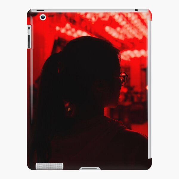 All Models Available The White Mustaches with blue background Skin Set for the Apple iPad
