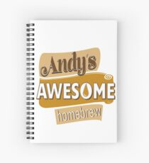 Andy's Awesome Homebrew Spiral Notebook