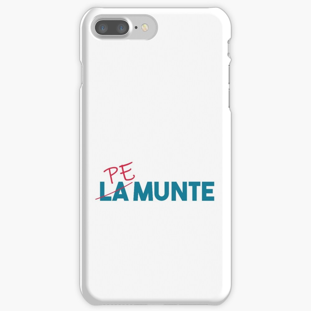 """Pe munte"", nu ""la munte"" iPhone Case & Cover"