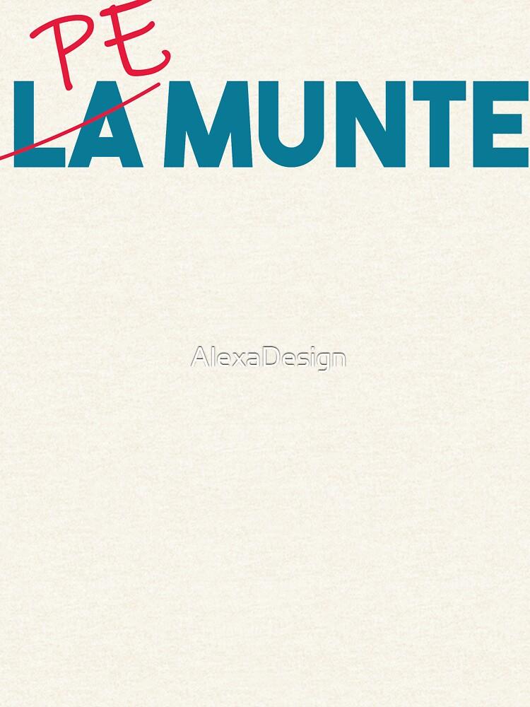 """Pe munte"", nu ""la munte"" by AlexaDesign"