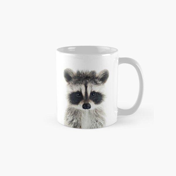 Baby Raccoon Portrait Classic Mug