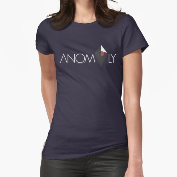 Anomalous Traveller's Tee Fitted T-Shirt