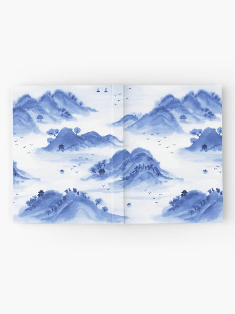 Alternate view of Morning in the Mountains Hardcover Journal