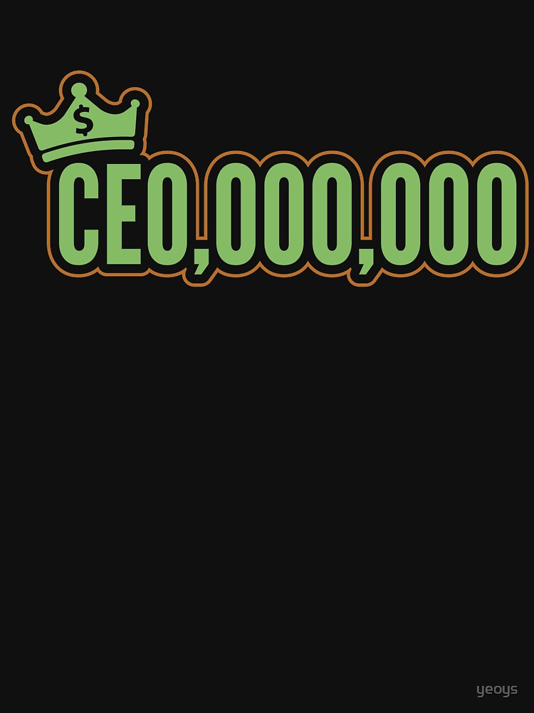 CEO 000 000 - Self Employed Gift by yeoys