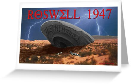 Roswell Lightning by EyeMagined