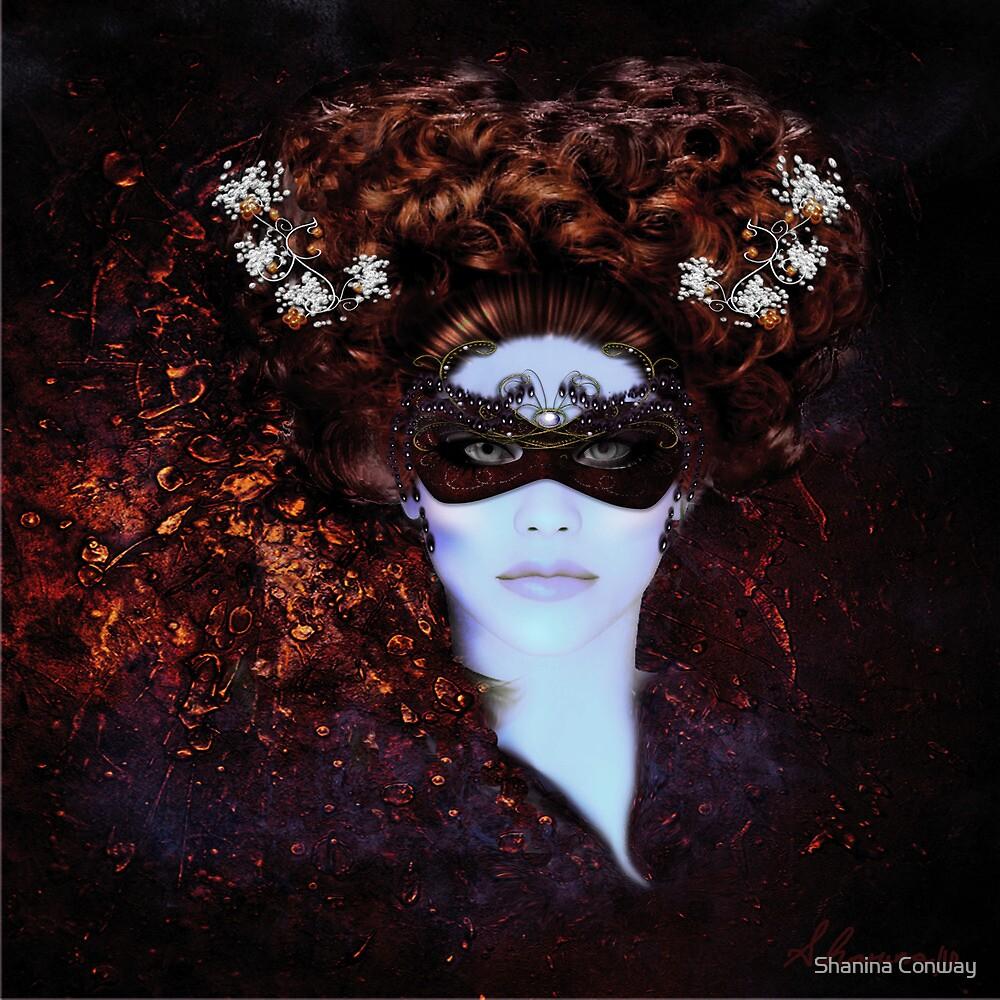 Masque- Masquerade Original Art by Shanina Conway