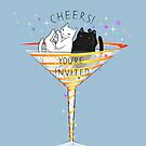 Cheers! Welcome to Martini Cats Party by runcatrun