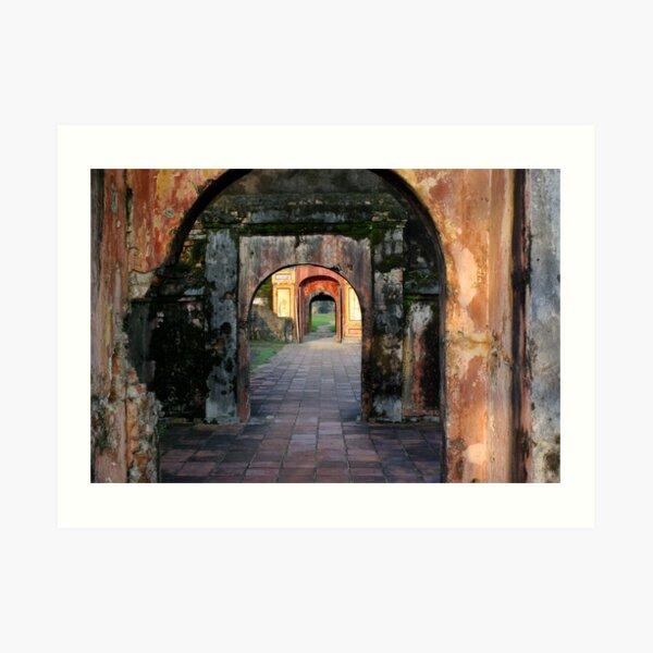 Hue Citadel Arch Art Print