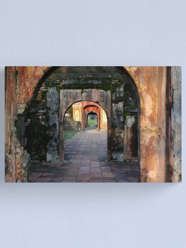 Alternate view of Hue Citadel Arch Canvas Print