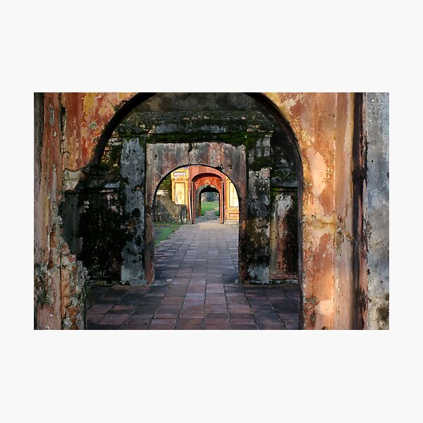 Hue Citadel Arch Photographic Print