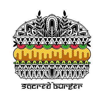 Sacred Burger by GODZILLARGE