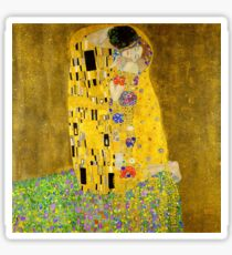 The Kiss - Gustav Klimt Sticker