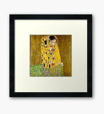 The Kiss - Gustav Klimt Framed Print