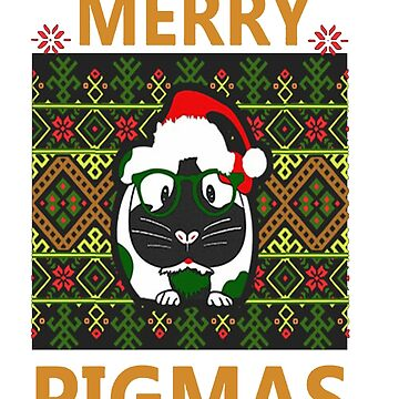 Guinea Pig Merry Pigmas Christmas sweater by Caitlin123123