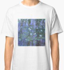 Monet - Blaue Seerosen Classic T-Shirt