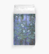 Monet - Blue Waterlilies Duvet Cover