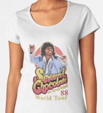 Sexual Chocolate 88' World Tour Randy Watson Eddie Murphy Movie 11 OZ Mug Women's Premium T-Shirt