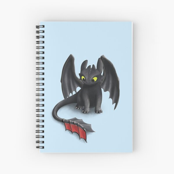 Toothless, Spiral Notebook
