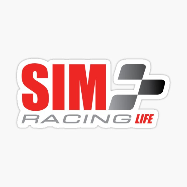 Sim Racing Life Sticker