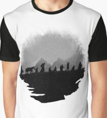 Misty Mountains Wanderers Graphic T-Shirt