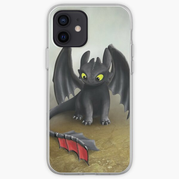Toothless Dragon  iPhone Soft Case