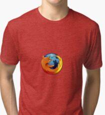 Firefox logo Tri-blend T-Shirt
