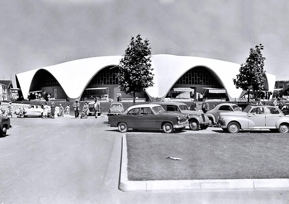 « Le Marché Central de Royan vers 1956 » par Francois Richet