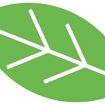 Green leaf by sledgehammer